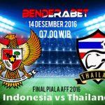 Prediksi Indonesia Vs Thailand 14 Desember 2016