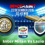 Prediksi Inter Milan Vs Lazio 22 Desember 2016