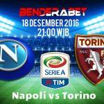 Prediksi Napoli vs Torino 18 Desember 2016