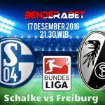 Prediksi Schalke vs Freiburg 17 Desember 2016