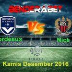 Prediksi Bordeaux vs Nice 22 Desember 2016, Prediksi Score