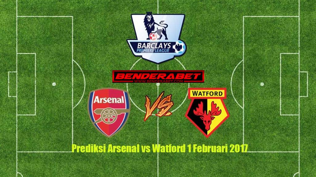 Prediksi Arsenal vs Watford 1 Februari 2017 | Bandar Bola ...