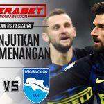 Prediksi Pertandingan Inter Milan vs Pescara 29 Januari 2017
