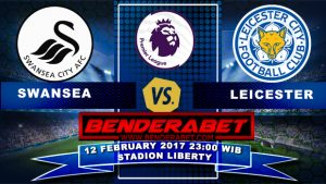 prediksi bola Swansea City vs Leicester City 2017
