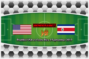 Prediksi USA vs Costa Rica 2 September 2017