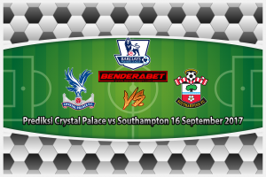 Prediksi Crystal Palace vs Southampton 16 September 2017