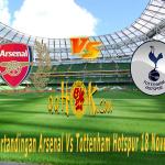 Prediksi Pertandingan Arsenal Vs Tottenham Hotspur 18 November 2017