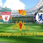 Prediksi Pertandingan Liverpool vs Chelsea 26 November 2017