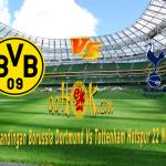 Prediksi Pertandingan Borussia Dortmund vs Tottenham Hotspur 22 November 2017