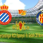 Prediksi Pertandingan RCD Espanyol vs Getafe 28 November 2017