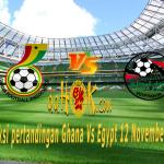 Prediksi Pertandingan Ghana vs Egypt 12 November 2017
