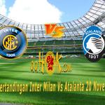 Prediksi Pertandingan Inter Milan vs Atalanta 20 November 2017