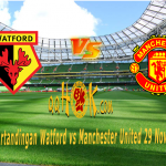Prediksi Pertandingan Watford vs Manchester United 29 November 2017