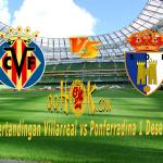 Prediksi Pertandingan Villarreal vs Ponferradina 1 Desember 2017