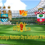 Prediksi Pertandingan Manchester City vs Southampton 30 November 2017