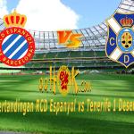 Prediksi Pertandingan RCD Espanyol vs Tenerife 1 Desember 2017
