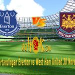 Prediksi Pertandingan Everton vs West Ham United 30 November 2017