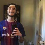 Anak Mourinho Ikut Rayakan Kemenangan Barcelona
