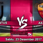 Prediksi Pertandingan Juventus vs AS Roma Sabtu, 23 Desember 2017