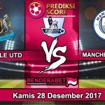 Prediksi Pertandingan Newcastle United vs Manchester City 28 Desember 2018