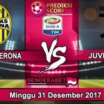 Prediksi Pertandingan Hellas Verona vs Juventus 31 Desember 2017