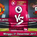Prediksi Pertandingan Manchester United vs Southampton 31 Desember 2017