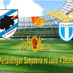 Prediksi Pertandingan Sampdoria vs Lazio 4 Desember 2017