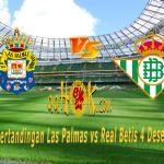 Prediksi Pertandingan Las Palmas vs Real Betis 4 Desember 2017