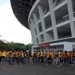 Stadion GBK diPenuhi Suporter Bhayangkara FC