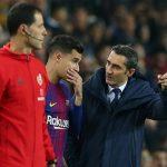 Begini Tanggapan Valverde Soal Penampilan Coutinho