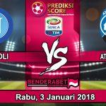 Prediksi Pertandingan Napoli vs Atlanta Rabu, 3 Januari 2018