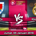 Prediksi Pertandingan Numancia vs Real Madrid 5 Januari 2018