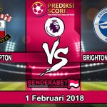 Prediksi Pertandingan Southampton vs Brighton & Hove Albion 1 Februari 2018