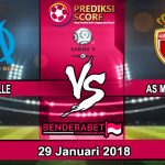 Prediksi Pertandingan Marseille vs AS Monaco 29 Januari 2018