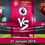 Prediksi Southampton vs Watford 27 Januari 2018