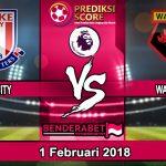Prediksi Pertandingan Stoke City vs Watford 1 Februari 2018