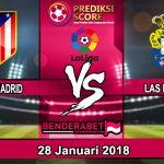 Prediksi Pertandingan Atletico Madrid vs Las Palmas 28 Januari 2018
