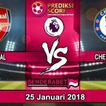 Prediksi Pertandingan Arsenal vs Chelsea FC 25 Januari 2018