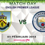Prediksi Burnley vs Manchester City 3 Februari 2018