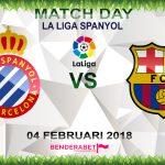 Prediksi Espanyol vs Barcelona 4 Februari 2018