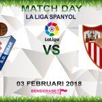 Prediksi Eibar vs Sevilla 3 Februari 2018