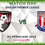 Prediksi Bournemouth vs Stoke City 3 Februari 2018