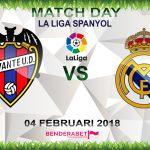 Prediksi Levante vs Real Madrid 4 Februari 2018