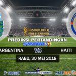 Prediksi Argentina vs Haiti 30 Mei 2018