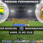 Prediksi Persib Bandung vs Bhayangkara FC 31 Mei 2018