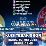 Prediksi Real madrid vs Bayern Munchen 03 Mei 2018