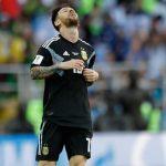 Argentina Gagal Menang, Messi: Ini Semua Salah Saya
