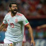 Gol Iran Dianulir, Spanyol Menang berkat Gol Diego Costa