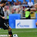 Messi Gagal Penalti, Argentina Gagal Kalahkan Islandia