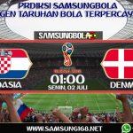PREDIKSI CROATIA VS DENMARK 2 JULI 2018